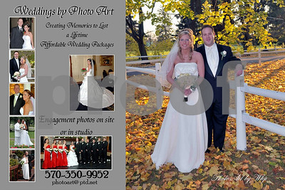 wedding 6 x 4 cards