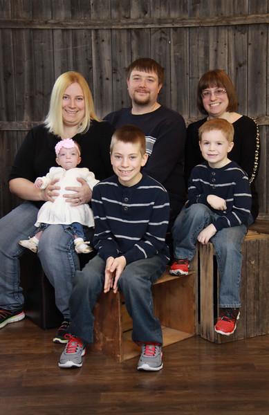 Jamie Dunmire Family 2013