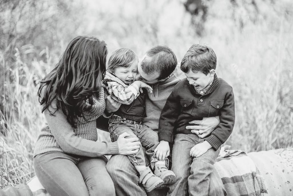 Sweet Family Photos for Grandma's Birthday