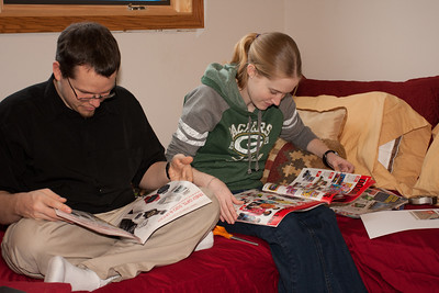 Katie and David look for special deals for Black Friday shopping.