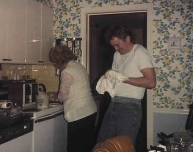 Mom Cooks, Rusty Juggles Dish