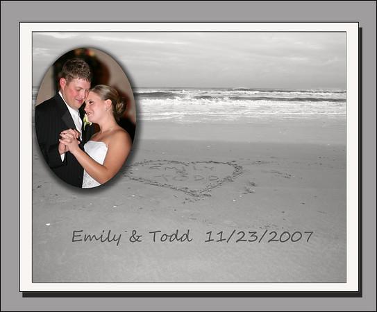 Emily & Todd 11/23/07 Album #1