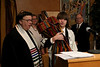 DFR Bar Mitzvah<br /> <br /> Rabbi Nathaniel Benjamin, Sharon Hilmes, DFR, Richard Toumey