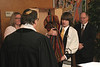 DFR Bar Mitzvah<br /> <br /> Sharon Hilmes, Rabbi Nathaniel Benjamin, DFR, Richard Toumey
