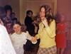 Kari Bloom, Randi Scheinblum<br /> <br /> Michael Rothschild's Bar Mitzvah, 1975<br /> <br /> Temple Sinai, Tenafly, NJ