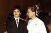 Michael Rothschild, Naomi Rothschild<br /> <br /> Michael Rothschild's Bar Mitzvah, 1975<br /> <br /> Temple Sinai, Tenafly, NJ