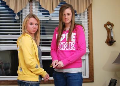 Amanda and Kirsten