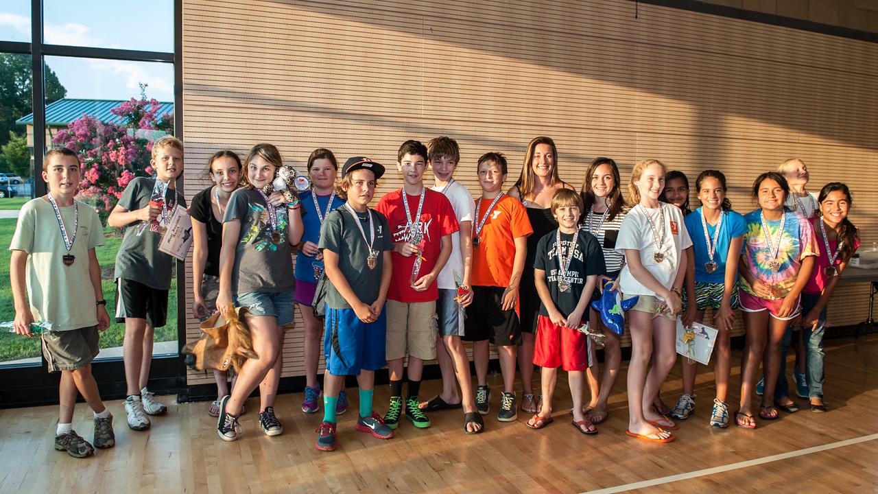 July 23, 2013.  Kraft YMCA Summer Swim Team Awards. Copyright © 2013 Jamie Kellner. All rights reserved.