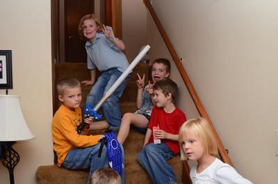 Staircase hangout.