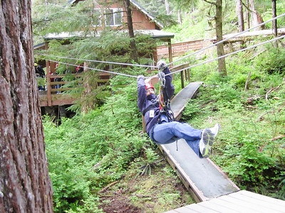 Ketchikan zip lining through the rain forest. http://www.alaskacanopy.com/