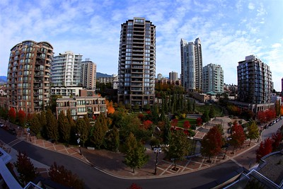 Vancouver in October