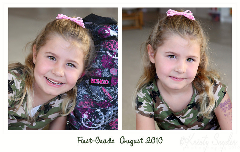 Camo-girl.....   not sure why, but she looks cute in it just the same.  :)