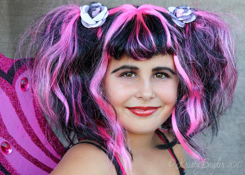 80-'s goth fairy...