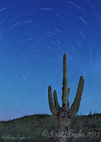 Star Trails, Lake Pleasant