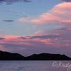 Sunset off the Docks at Lake Pleasant, Scorpion Bay Marina...