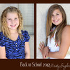How are my kiddos growing up so fast?   3rd grade for Lyssie, and 8th for Emily    Yikes! :)
