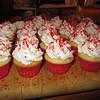 Blizzard mini-cupcakes