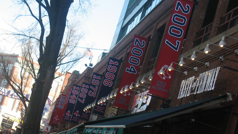 the Championship banners