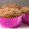 I am alway smaking some crazy healthy muffins to feed my kids..  More fiber, less sugar,<br /> oat, and whole wheat..   they love me..  lol...