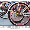 "If you don't have a Beach Cruiser....  something is wrong with you.  Bikes are tied up all over the place....   <br /> <br /> I kinda liked the ""Pink"" rims on this one...  cute and girly. :)"