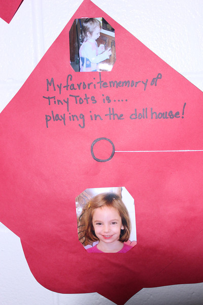 two years of Tiny Tots and her favorite was the doll house?
