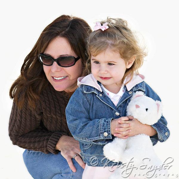 Newport Beach with Aunt Patti....