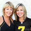 Beautiful sisters and Steeler friends.