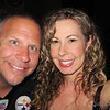 Rare photo of me and the hubbs....   NIght out at dinner with friends...  Playing with the little G-12 camera