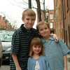 Easter 2004,  Eric 12, Tommy 8 and Jesscia 4
