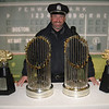 04 and 07 AL Championship and World Series trophies