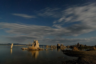 August - Moonlit Tufa Mono Lake