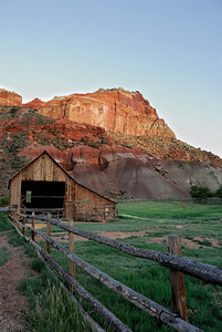Accent - February - The barn at Fruita Capitol Reef National Park