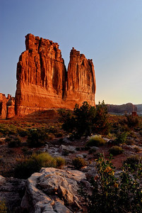 Accent - September - The Organ at Sunrise Arches National Park