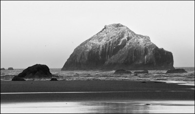March Accent - Face Rock Bandon, Oregon