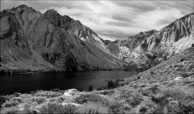 August Accent - Mt. Morrison and Convict Lake Eastern Sierra Nevada