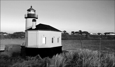 March Accent - Coquille River Lighthouse Bandon, Oregon