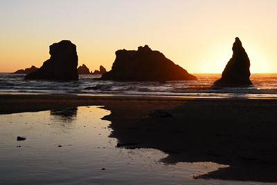 March - Sea Stacks Bandon, Oregon