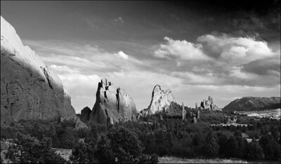 May Accent - Central Garden Sunset Garden of the Gods Colorado Springs