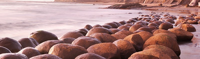 January Accent - Bowling Ball Beach Mendocino Coast