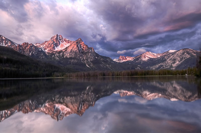August - Sawtooth Sunrise Stanley Lake Stanley, Idaho