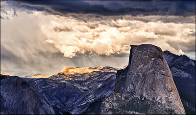 December Accent - High Country Storm Yosemite National Park