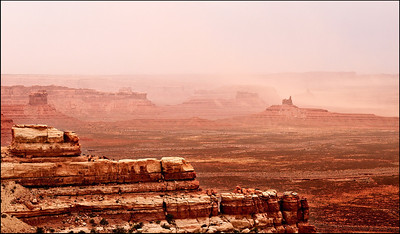 August Accent - Sandstorm Valley of the Gods