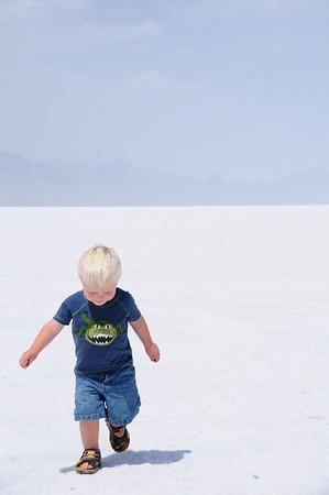 Brandon on the salt flats