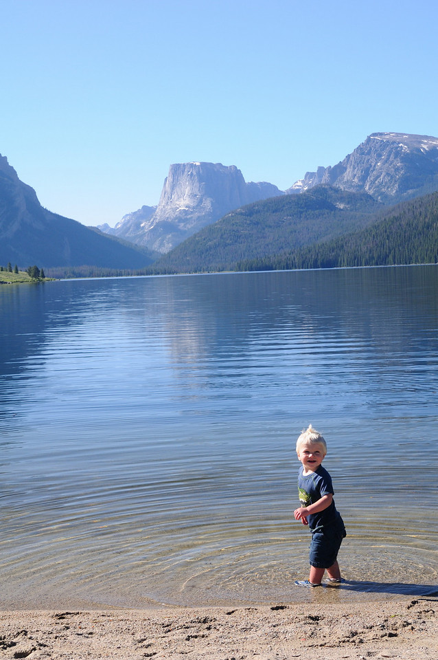 Brandon and the lake