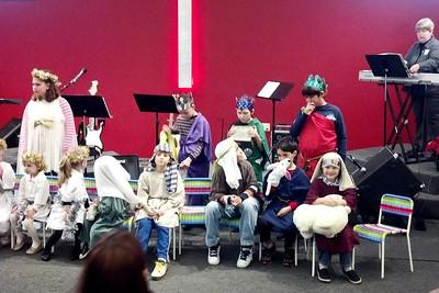 Christmas program at church