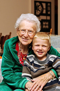 Brandon and Grandma Sutton