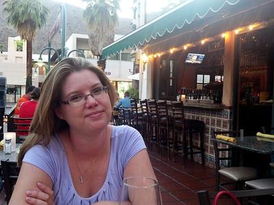 Dinner in Palm Springs