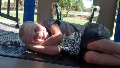 Break on the playground