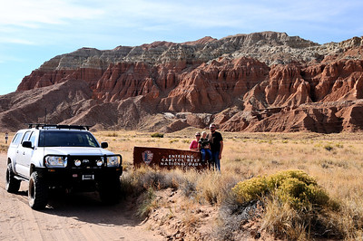 Remote entrance to Capitol Reef