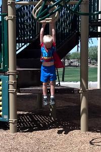 Playing Superman